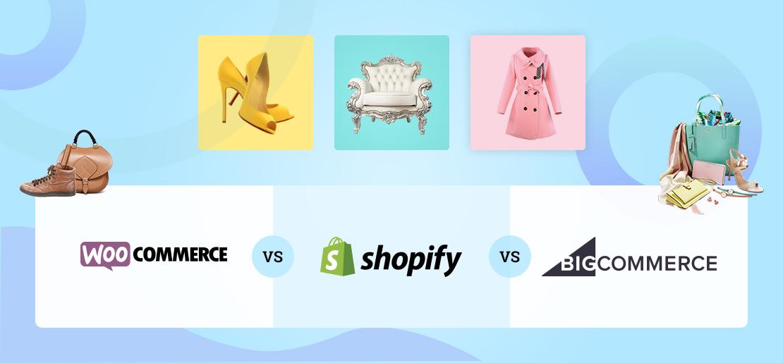 WooCommerce vs. Shopify vs. BigCommerce